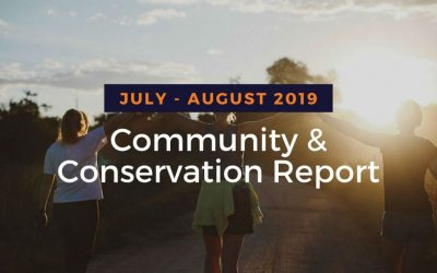 Community Conservation Report August 2019